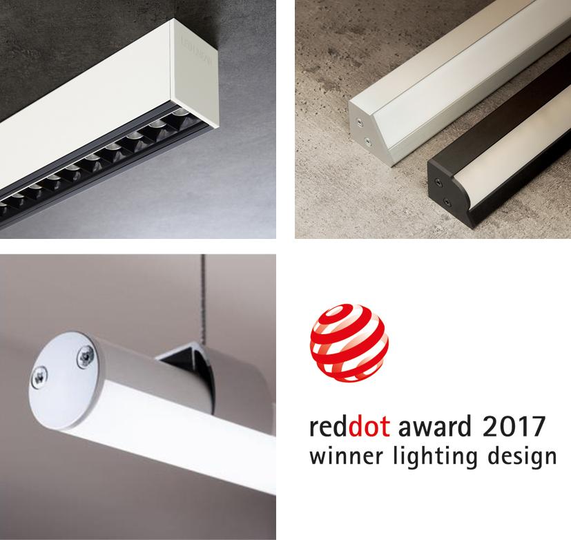 Led Linear Gewinnt Red Dot Award Für 3 Produkte